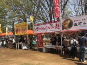 桜祭り出店